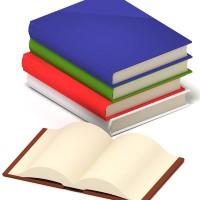Fünf Buchpakete