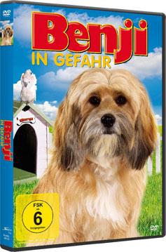 Benji in Gefahr - DVD