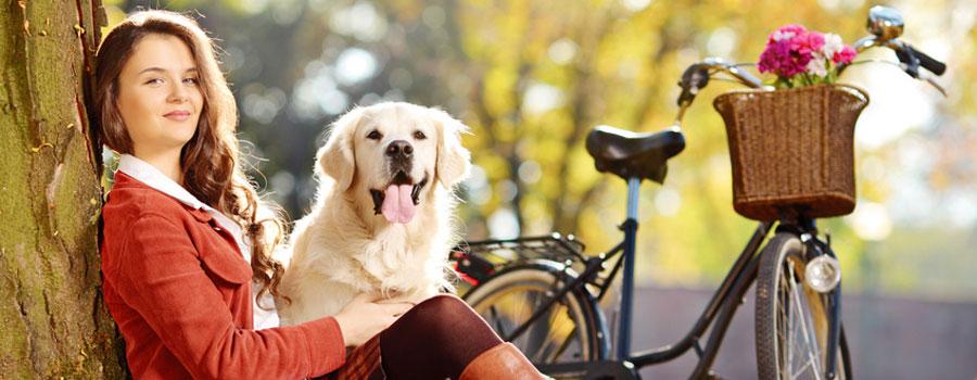 Gewinnspiel: Mit Hund und Fahrrad unterwegs