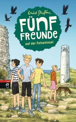 Fuenf Freunde auf der Felseninsel von Enid Blyton