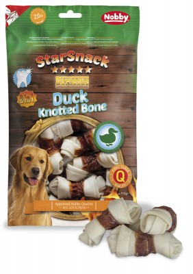 StarSnack Duck Knotted Bone