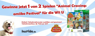 Gewinnspiel: Animal Crossing: amiibo Festival für die Wii U