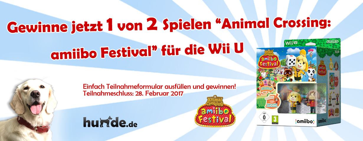 Animal Crossing: amiibo Festival für die Wii U