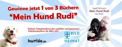 Gewinnspiel: Mein Hund Rudi