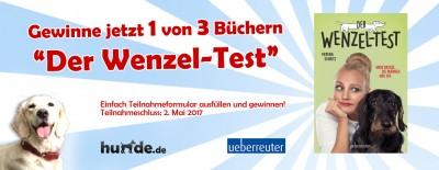 Gewinnspiel: Der Wenzel-Test – Mein Dackel, die Männer und ich