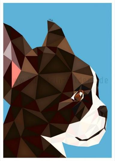 Französische Bulldogge by Moitao
