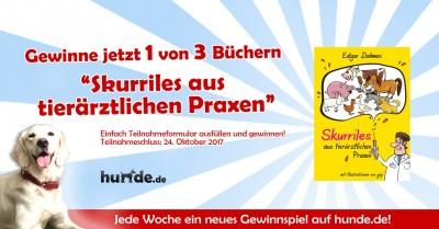 Gewinnspiel: Skurriles aus tierärztlichen Praxen