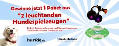 Gewinnspiel: tiierisch.de – 2 leuchtende Spielzeuge