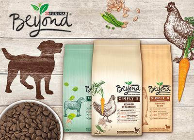 PURINA Beyond Futterpakete im Wert von je 50 Euro