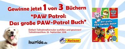 Gewinnspiel: PAW Patrol: Das große PAW-Patrol-Buch