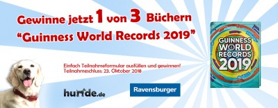 Gewinnspiel: Guinness World Records 2019