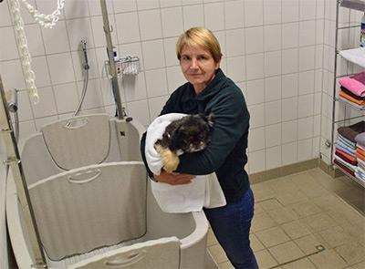 Tierheimleiterin Susanne David