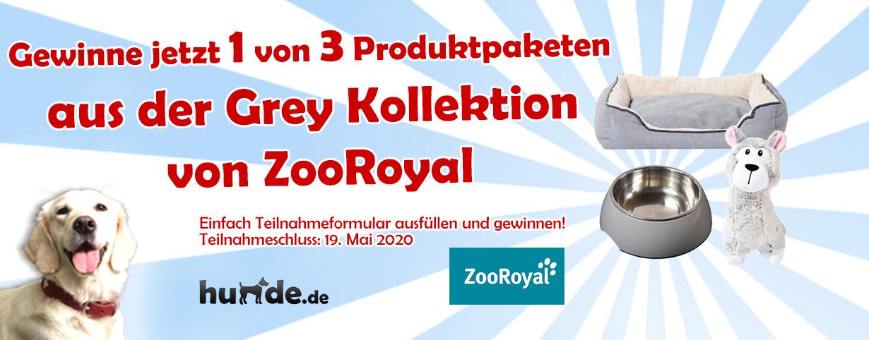 3 x 3 Produkte aus der Grey Kollektion von ZooRoyal