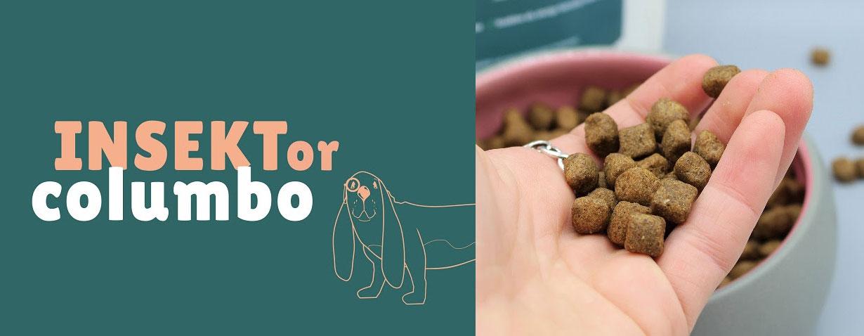BegBuddy INSEKTor columbo – Vollwertiges Hundefutter aus Insektenlarven schützt Tierwohl und Natur
