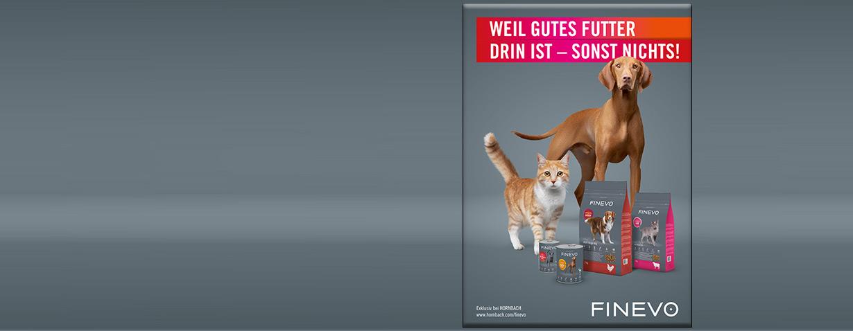 Neue Tierfutter-Eigenmarke bei Hornbach