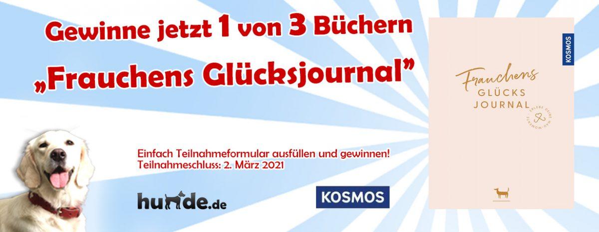 Gewinnspiel: Frauchens Glücksjournal