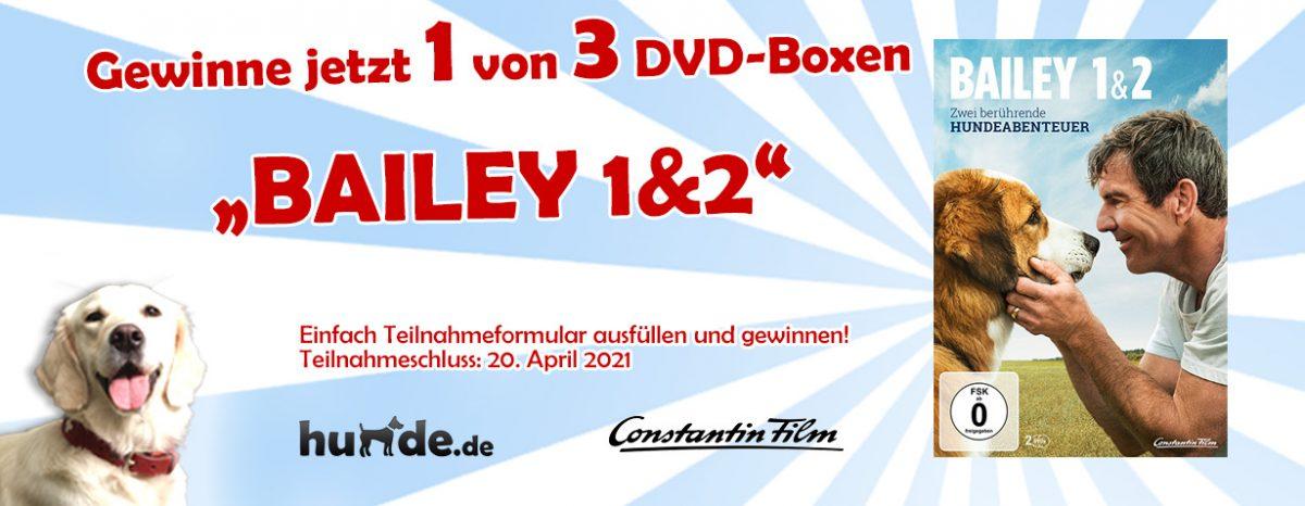 Gewinnspiel: BAILEY 1&2 auf DVD