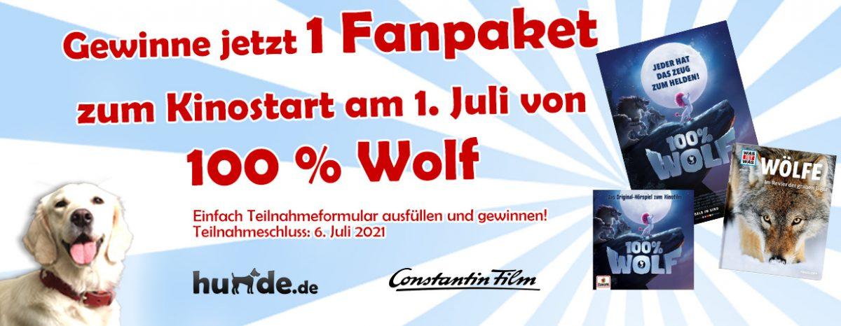 Gewinnspiel: Fanpaket zum Kinofilm 100% WOLF